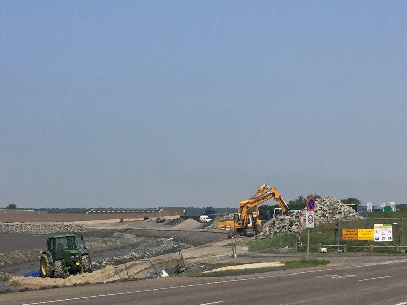 Kijkje achter de bouwhekken op Ameland en Centrale As