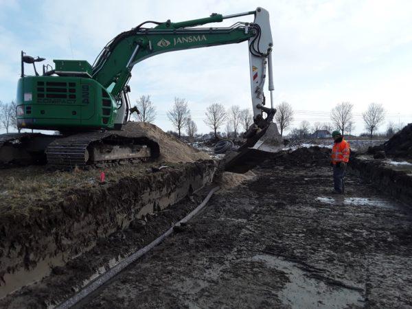 Cunet Graven En Drainage Aanbrengen Werpsterhoek