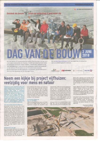 Dag Van De Bouw Friesland