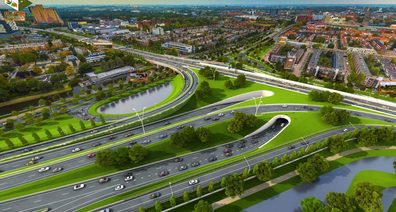 Ring Zuid A7 Groningen