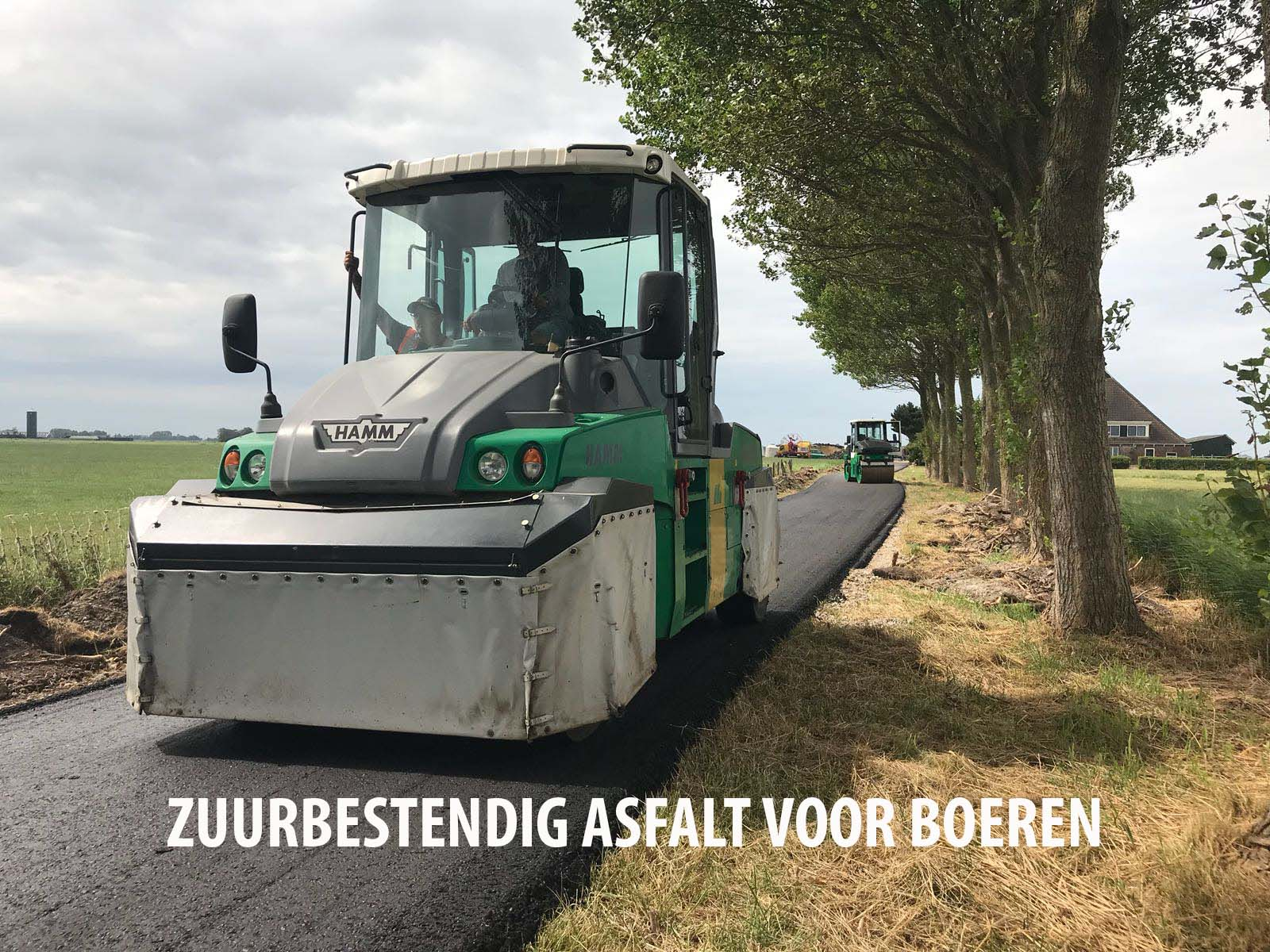 Zuurbestendig asfalt
