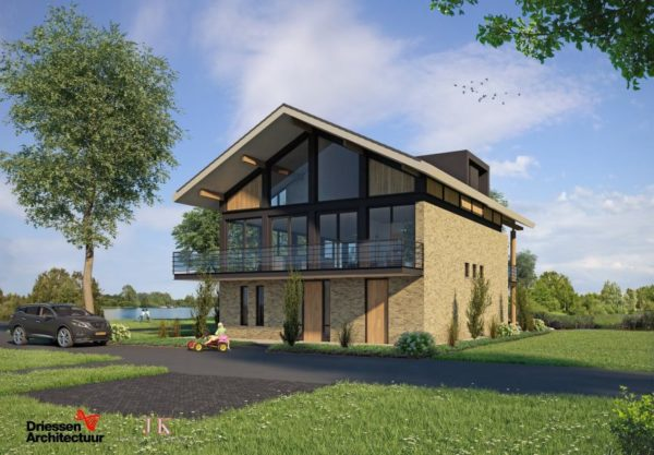 Wij-bouwen-een-Woonhuis-in-Grou-voor-Kuperus-aan-de-Minne-Finne-nieuwbouw-watervilla-villa
