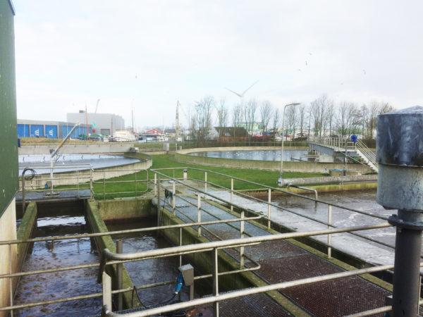 Impressie_rioolwaterzuivering_(RWZI)_Harlingen