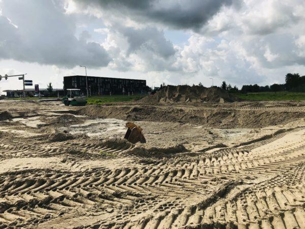 Landscape-Bredyk-Overijsselselaan-Leeuwarden-met-veel-grond-te-verzetten