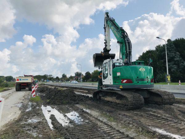 De-groene-Kraan-van-jansma-op-de-Overijsselseweg-Bredyk-Leeuwarden-aansluiting