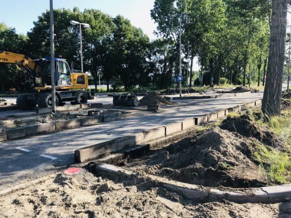 Uitbreken-kanaalweg-Leeuwarden-kraan-grondwerk-