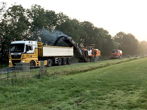 Groot Onderhoud Asfalt Noardeast-Fryslân