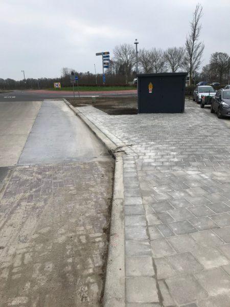 Elektrisch Oplaadpunt Voor Bussen In Hoogkerk-Groningen