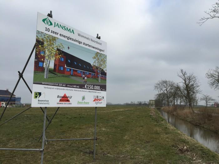 Bouwbord_wommels_noordoost-Ljurk_nieuwbouw