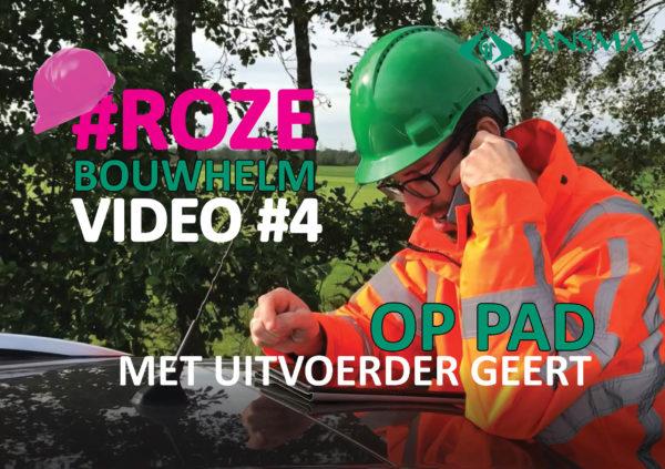 #Rozebouwhelmvideo #4 Op Pad Met Uitvoerder Geert
