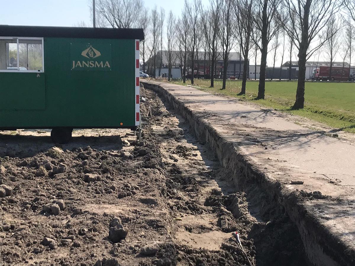 Fietspad Asfalt Reduzum Wytgaard Gem. Leeuwarden April 2020 -3