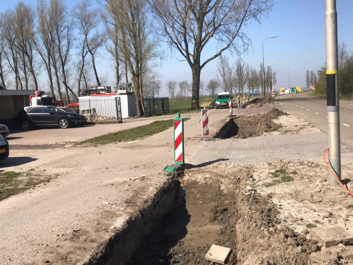 Fietspad Reduzum Wytgaard Graafwerk Mei 2020 -7